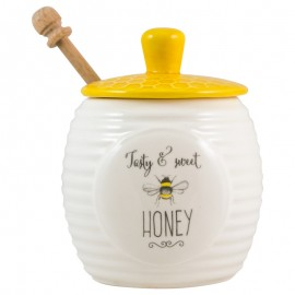 Bee Happy Honey Pot