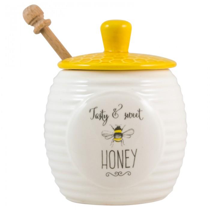 Bee Happy Honey Pot