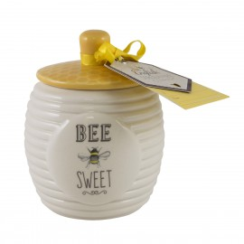 Bee Happy Sugar Pot