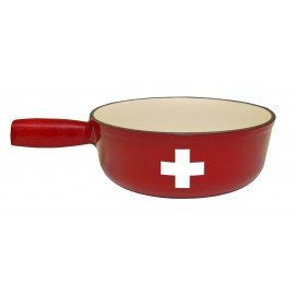 Swiss Crosse Fondue Pot