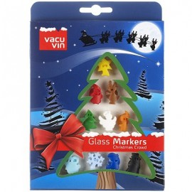 Glass Markers Christmas