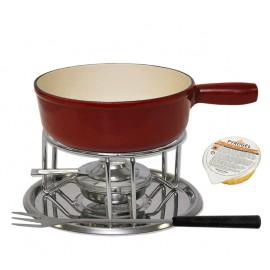 """Set fondue """"Modern"""" noir"""